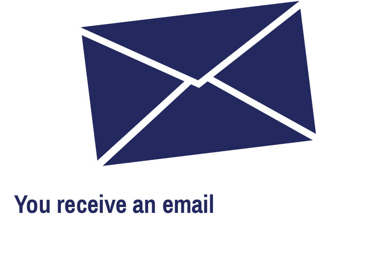 You receive an email confirming a discussion between our Benefit Advisor and your client